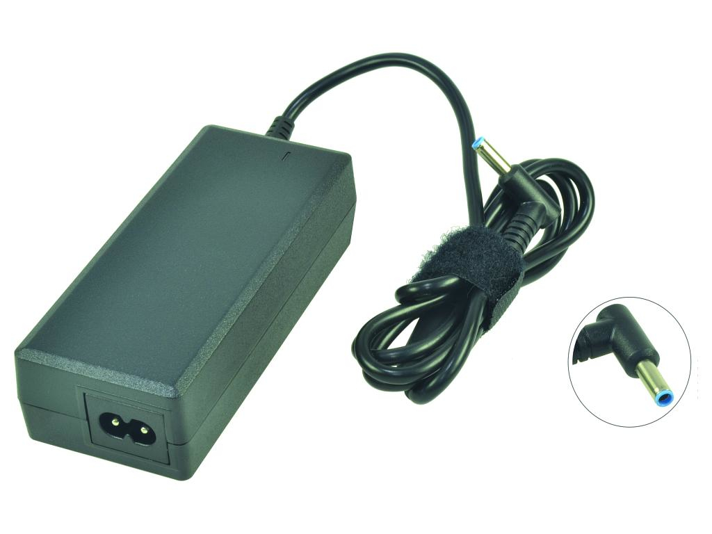 2-Power - Power Adapter - AC 110-240 V - 65 Watt - For HP 255 G3, Envy 14, 15, Pavilion 17 CAA0737A - C2000
