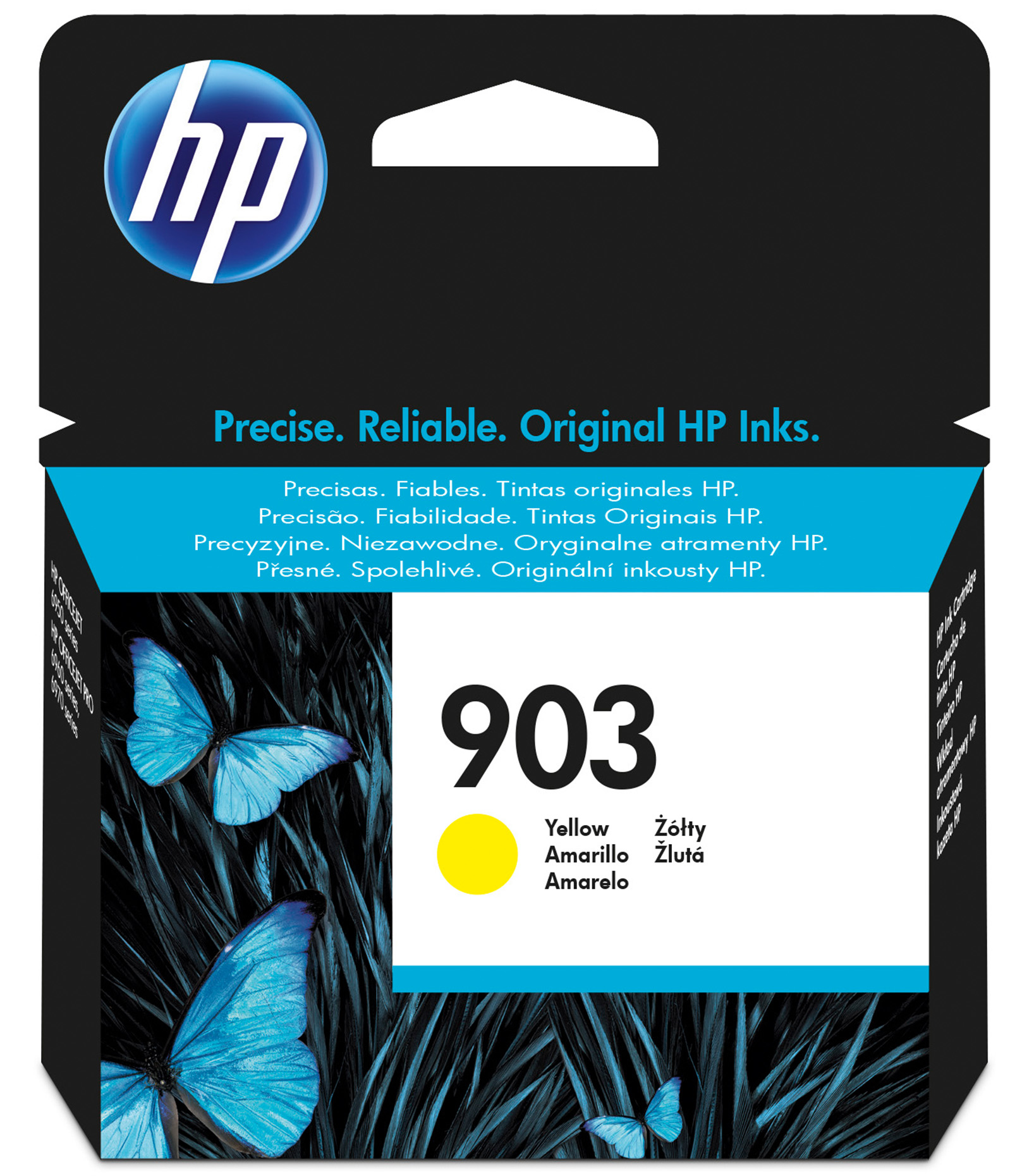 HP 903 - Yellow - Original - Ink Cartridge - For Officejet Pro 6960, 6970 T6L95AE#BGX - C2000