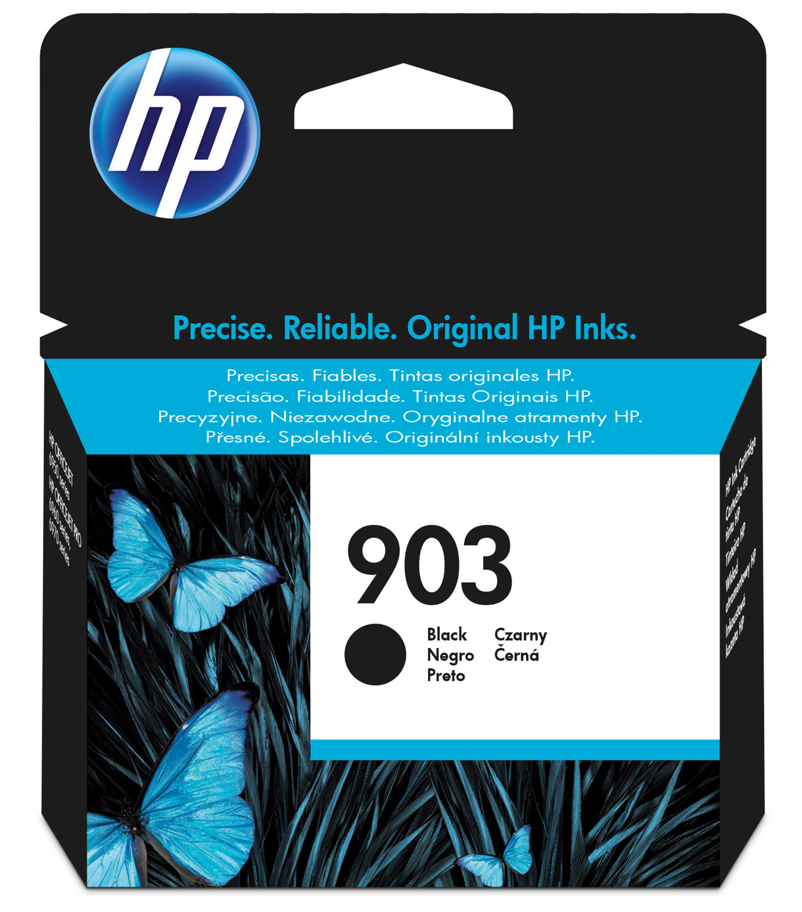 HP 903 - Black - Original - Ink Cartridge - For Officejet Pro 6960, 6970 T6L99AE#BGX - C2000