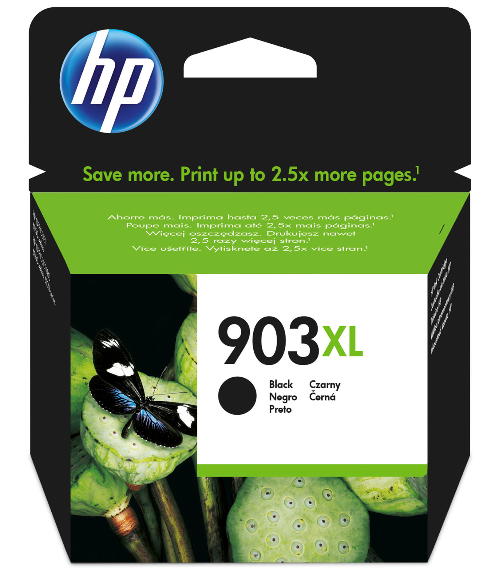 HP 903XL - High Yield - Black - Original - Ink Cartridge - For Officejet Pro 6960, 6970 T6M15AE#BGX - C2000