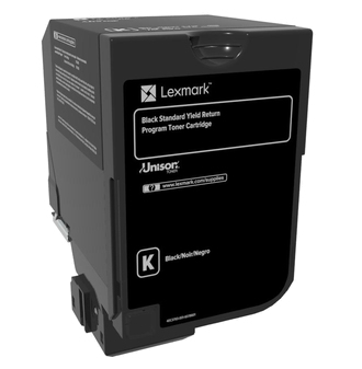 lexmark Cs720/725/cx725 Black Return Prog Ton 7k 74c2sk0 - AD01