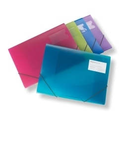 rapesco A4 3-flap Folio Elasticated Pk5 0720 - AD01