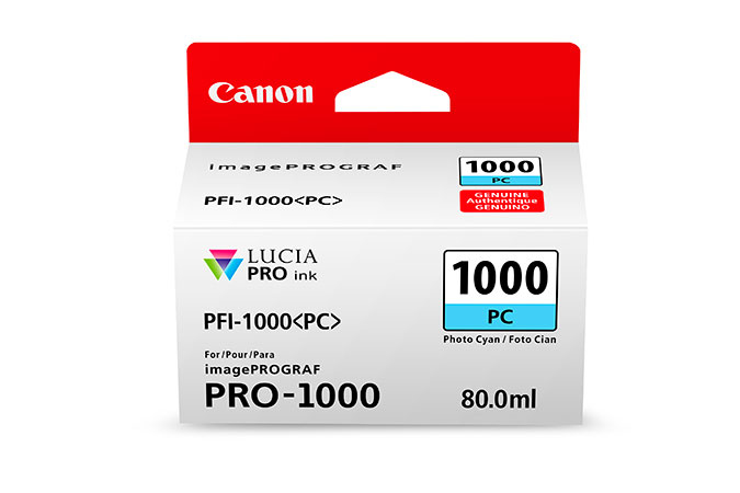 Canon Pfi1000 Photo Cyan Ink 80ml 0550c001 - AD01