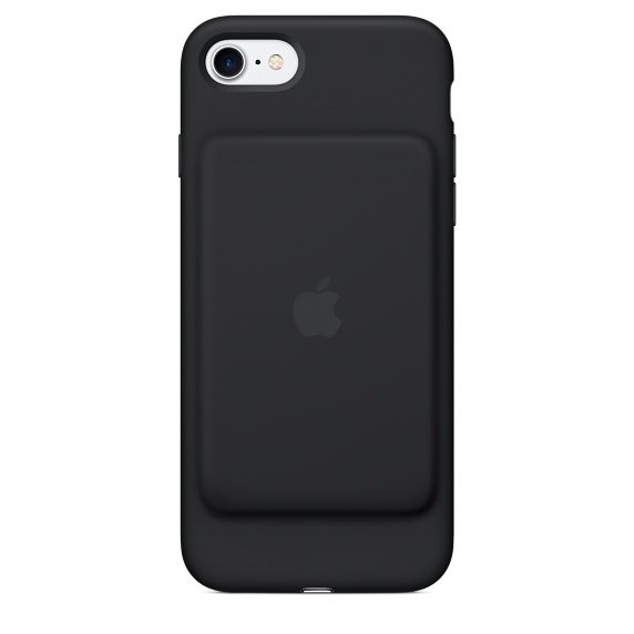 Apple Smart - Battery Case Back Cover For Mobile Phone - Silicone, Elastomer - Black MN002ZM/A - C2000