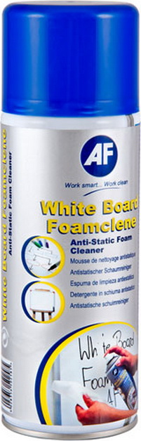 Afwbf400ml     Af White Board Foam Cleaner    Anti Static Foam Cleaner 400ml                               - UF01