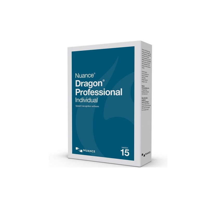 Dragon Professional Individual 15, UK English, Upgrade From Professional 12 And 13 Or DPI 14 SN-K889Z-RD7-15.0 - C2000
