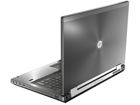 "XY697AV HP Elite Book 8760w Mobile Workstation. Core i7 2820QM Quad Core 2.3Ghz, 4GB RAM, 320GB HDD, 17.3"" TFT 1920*800, DVD-RW, Win 7 / 10 Pro - Ex Demo unit with 6 months RTB warranty. (Laptops have been professionally refurbished, tested and box"