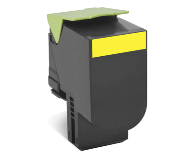 702y Yellow Return Program Toner Car 70c20y0 - WC01
