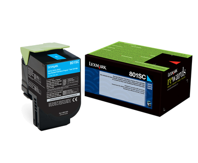 Return Programme Cyan Toner 2k 80c2sc0 - WC01