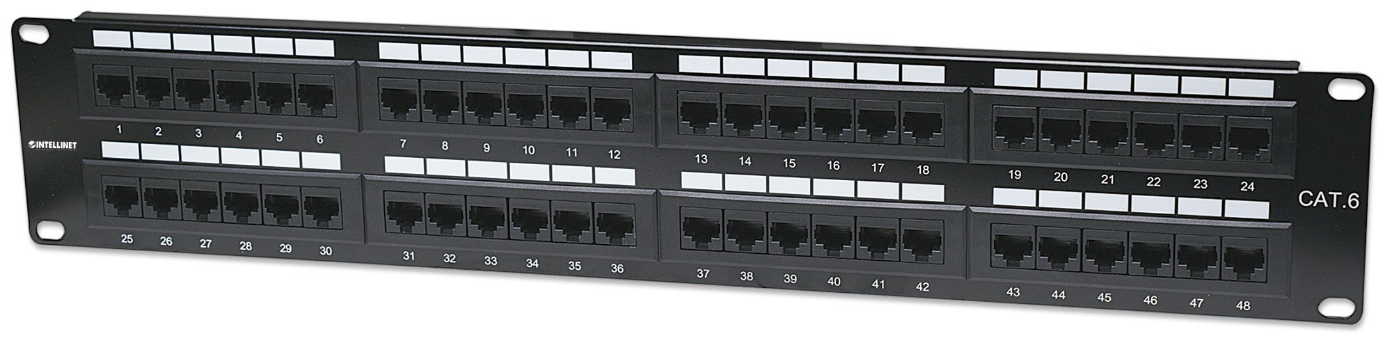 Intellinet                       Cat6 Patch Panel                    48-port Utp 2u                   In 560283