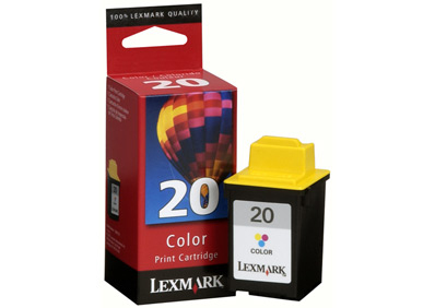Remanufactured Lexmark 15M0120 (20) Colour Ink Cartridge 15M0120 - rem01