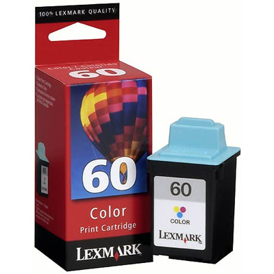 Remanufactured Lexmark 17G0060E (60) Colour Ink Cartridge 17G0060 - rem01
