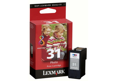 Remanufactured Lexmark 18C0031E (31) Photo Colour Ink Cartridge 18C0031 - rem01