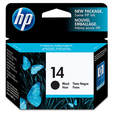 Blue Box Remanufactured HP C5011DE (14) Black Ink Cartridge C5011D - rem01