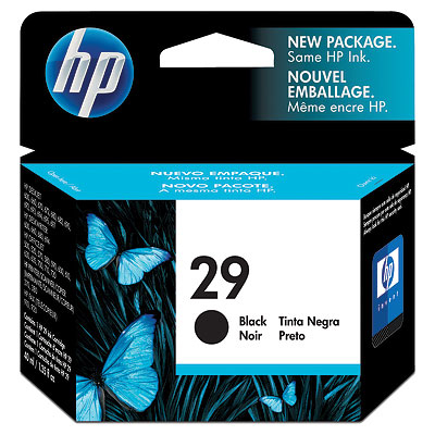 Remanufactured HP 51629AE (29) Black Ink Cartridge 51629A - rem01