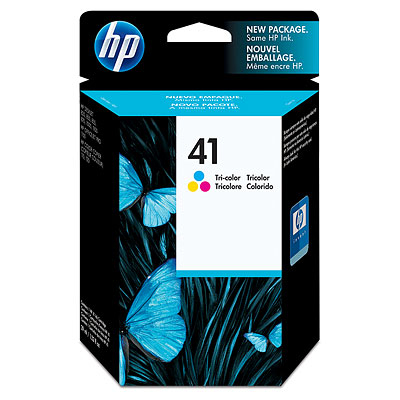 Remanufactured HP 51641AE (41) Colour Ink Cartridge 51641A - rem01