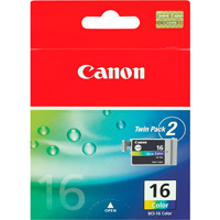 Compatible Canon 9818A002AA (BCI16) Colour Ink Cartridge BCI-16C - rem01