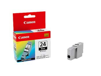 Blue Box Compatible Canon 6881A002AA (BCI24) Black Ink Cartridge BCI24B - rem01