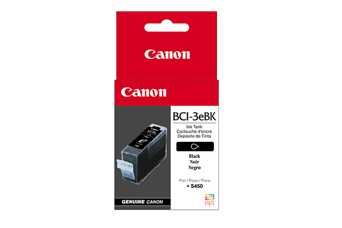 Blue Box Compatible Canon 4479A002AA (BCI3) Black Ink Cartridge BCI3B - rem01