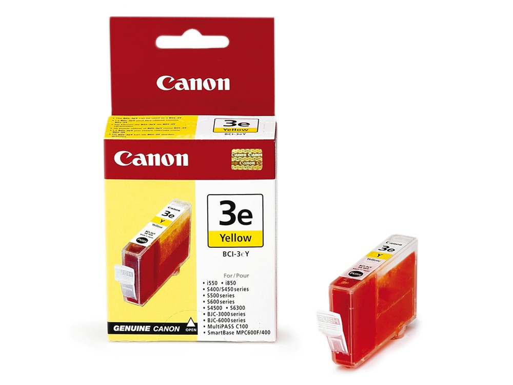 Compatible Canon 4482A002AA (BCI3) Yellow Ink Cartridge BCI3Y - rem01