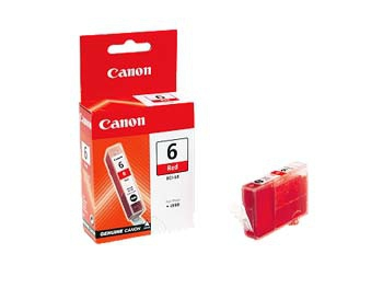 Compatible Canon 8891A002AA (BCI6) Red Ink Cartridge BCI6R - rem01