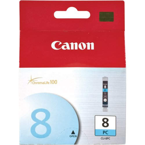 Compatible Canon 0624B001AA (CLI8) Photo Cyan Ink Cartridge (Unchipped) CLI8PC - rem01
