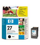 Remanufactured HP C8727AE (27) Black Ink Cartridge C8727A - rem01