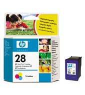 Remanufactured HP C8728AE (28) Colour Ink Cartridge C8728A - rem01