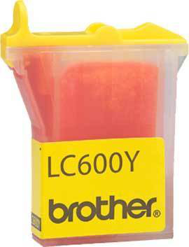 Compatible Brother (LC600Y) Yellow Ink Cartridge LC600Y - rem01