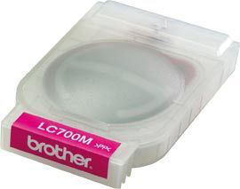 Compatible Brother (LC700M) Magenta Ink Cartridge LC700M - rem01