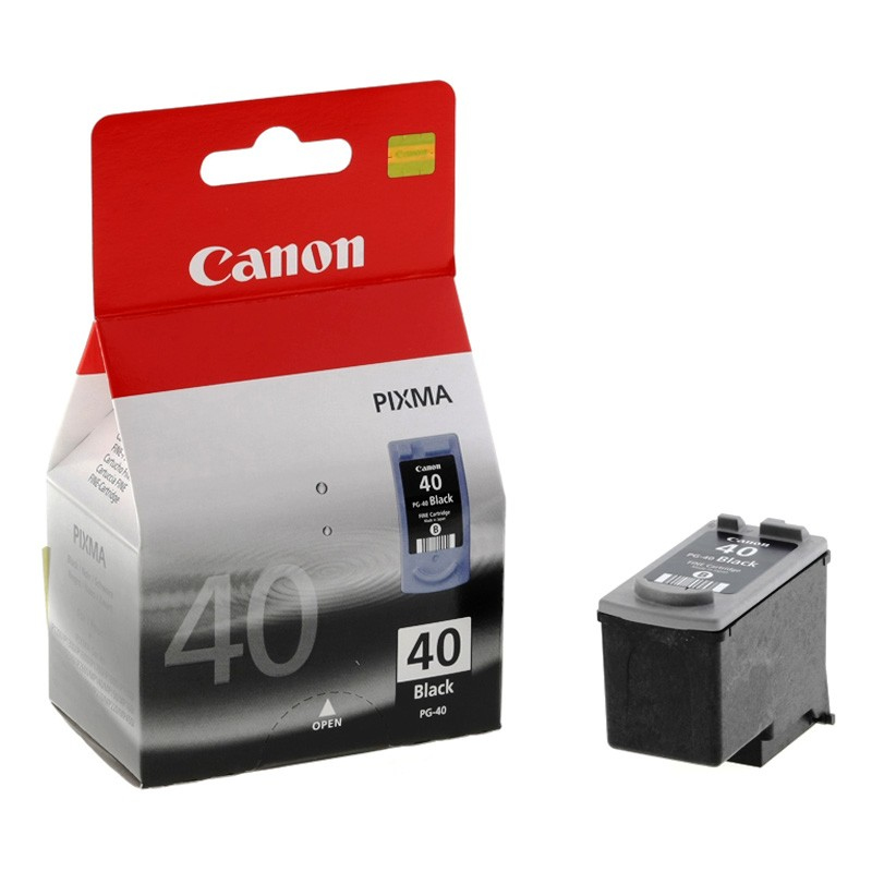 Remanufactured Canon 0615B001AA (PG40) Black Ink Cartridge PG40 - rem01