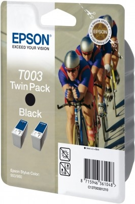 Compatible Epson C13T00301110 (T003) Black Ink Cartridge T003 - rem01