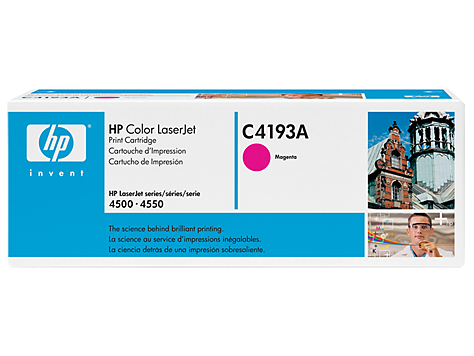 Remanufactured HP C4193A Toner Cartridge Magenta 6K C4193A - rem01
