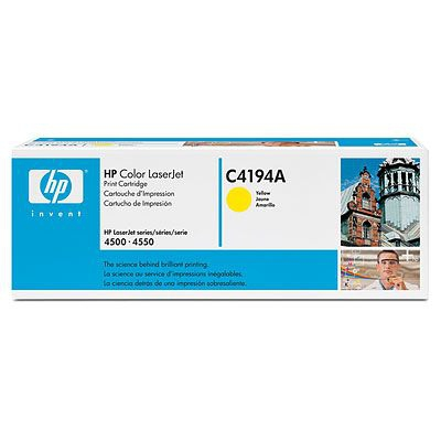 Remanufactured HP C4194A Toner Cartridge Yellow 6K C4194A - rem01