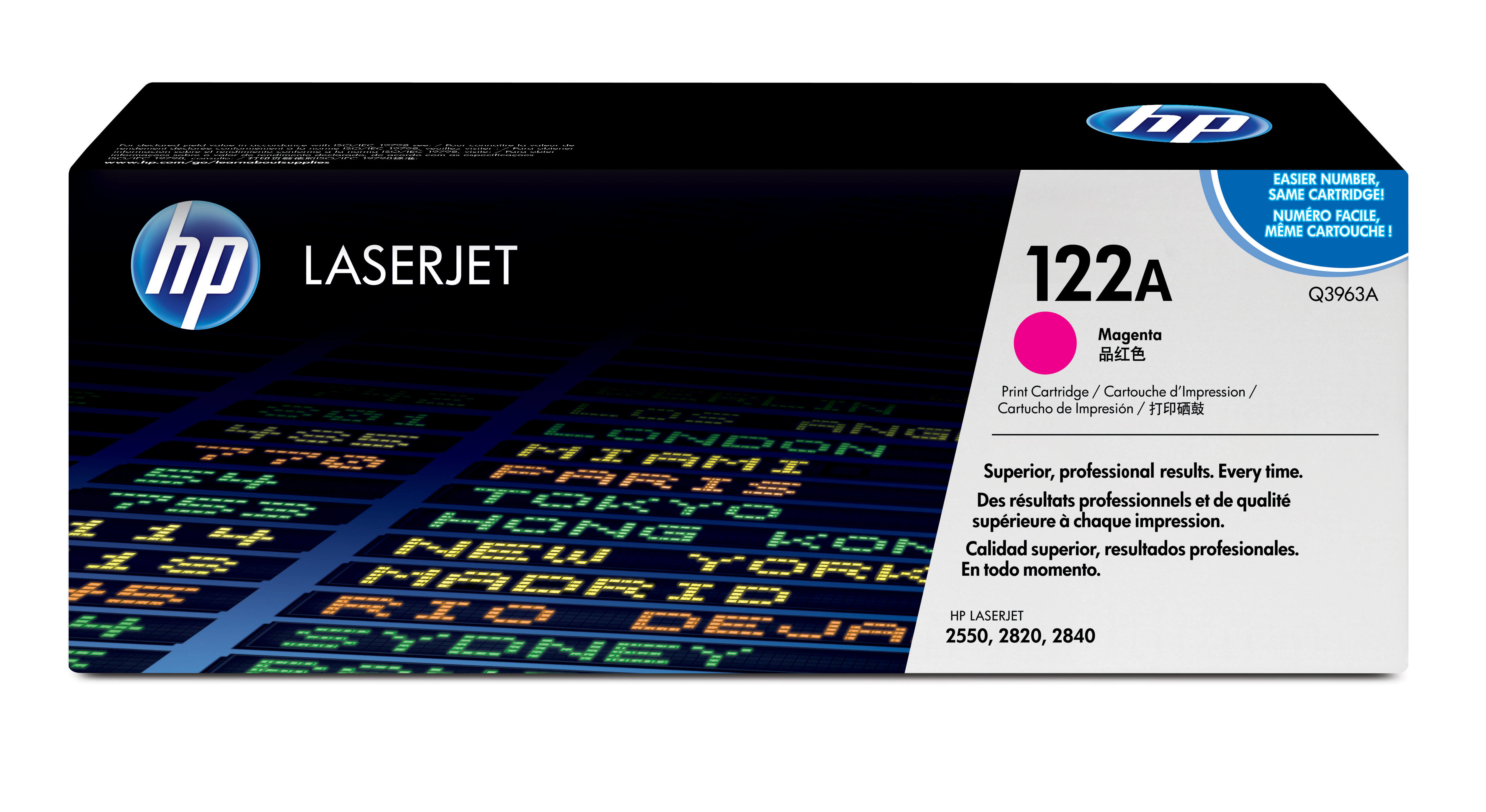Remanufactured HP Q3963A Toner Cartridge Magenta 4K Q3963A - rem01