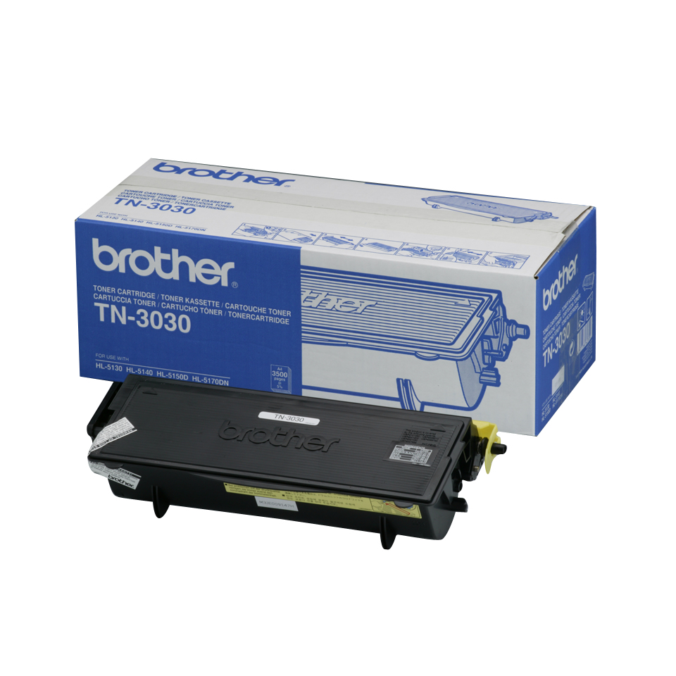 Remanufactured Brother TN3030 Toner Cartridge Black 3.5k TN3030 - rem01
