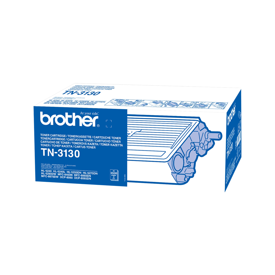 Remanufactured Brother TN3130 Toner Cartridge Black 3.5k TN3130 - rem01