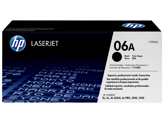 Remanufactured HP C3906A Toner Cartridge Black 2.5K C3906A - rem01