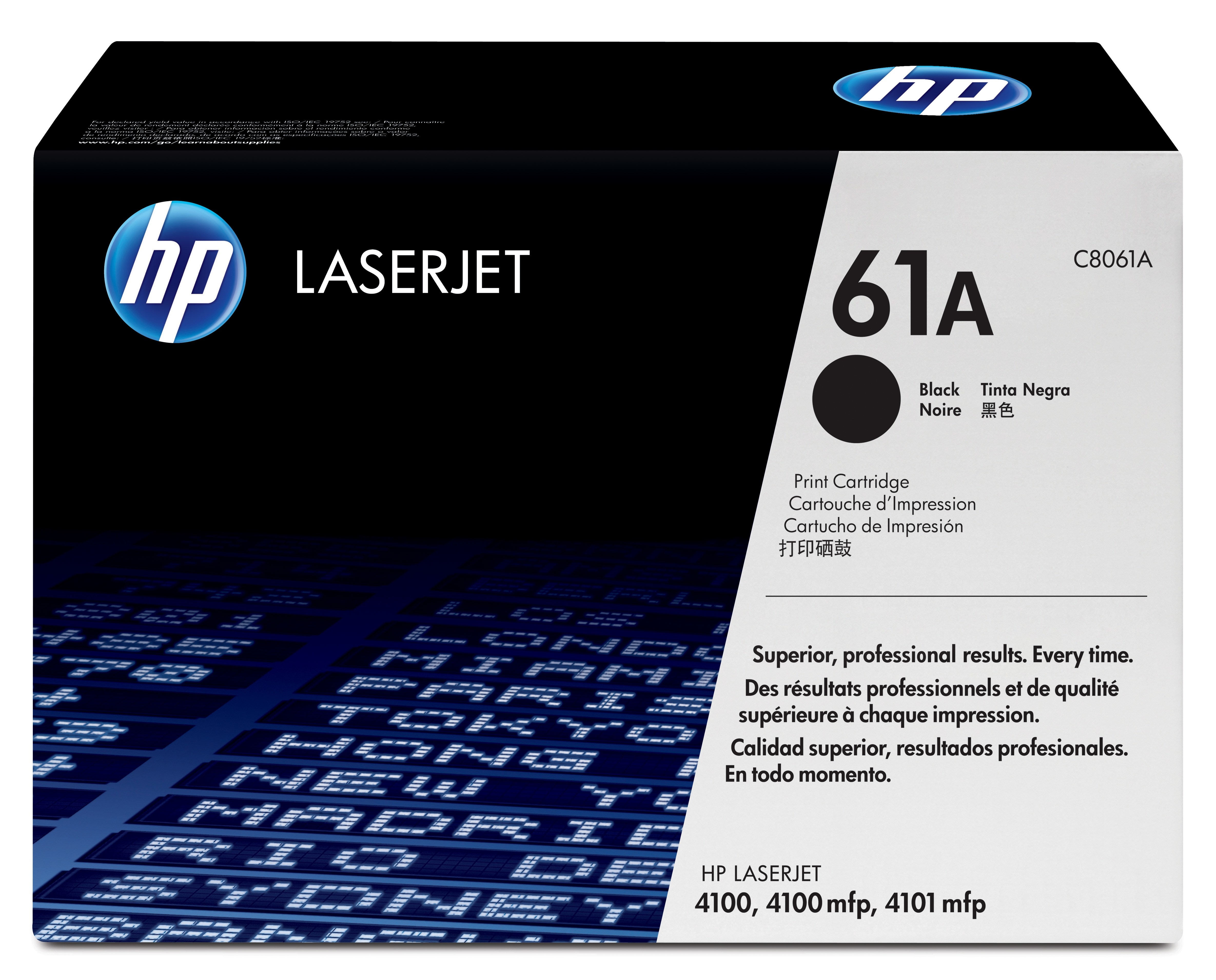 Remanufactured HP C8061A Toner Cartridge Black 6K C8061A - rem01