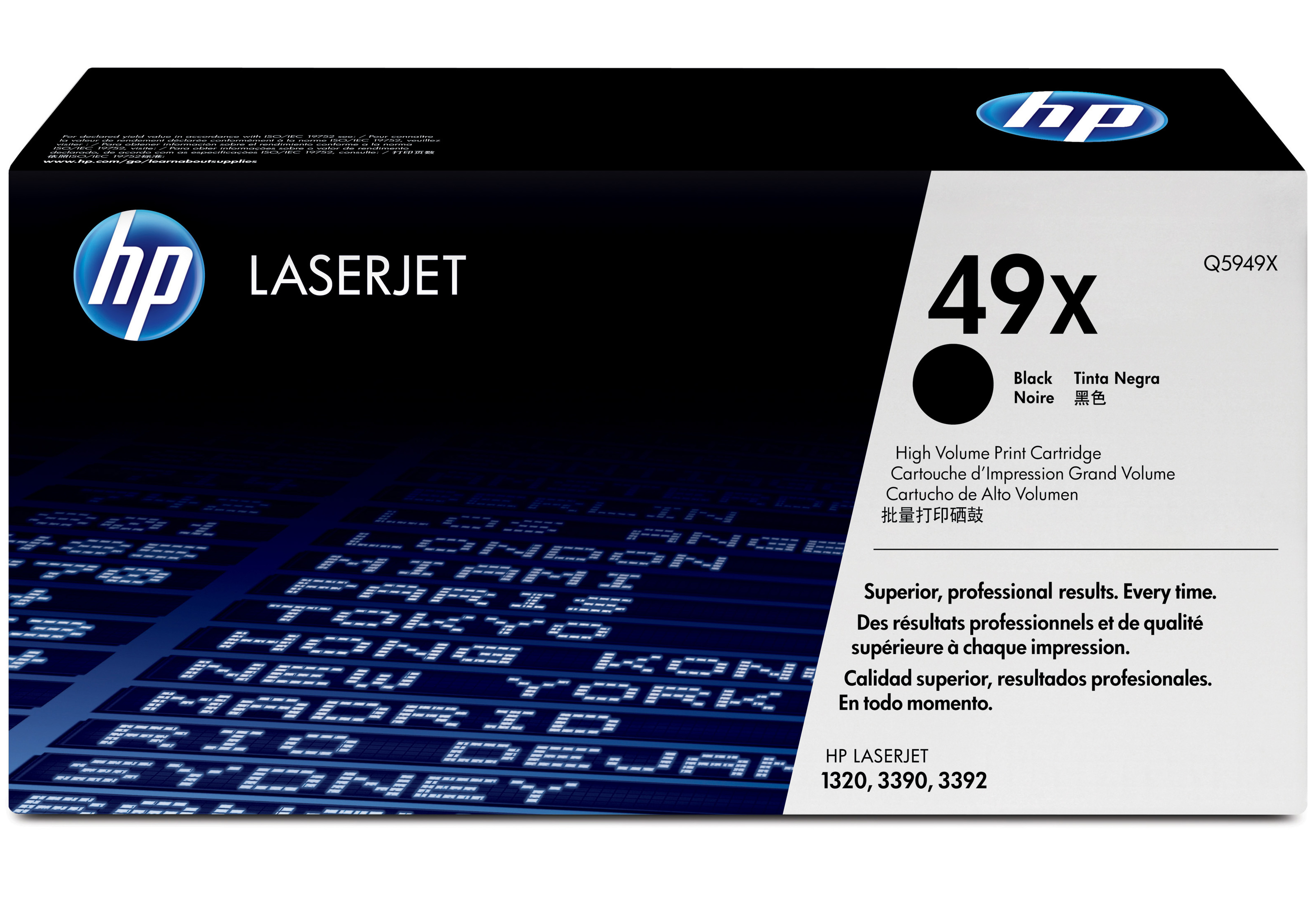 Remanufactured HP Q5949X Toner Cartridge Black 6K Q5949X - rem01