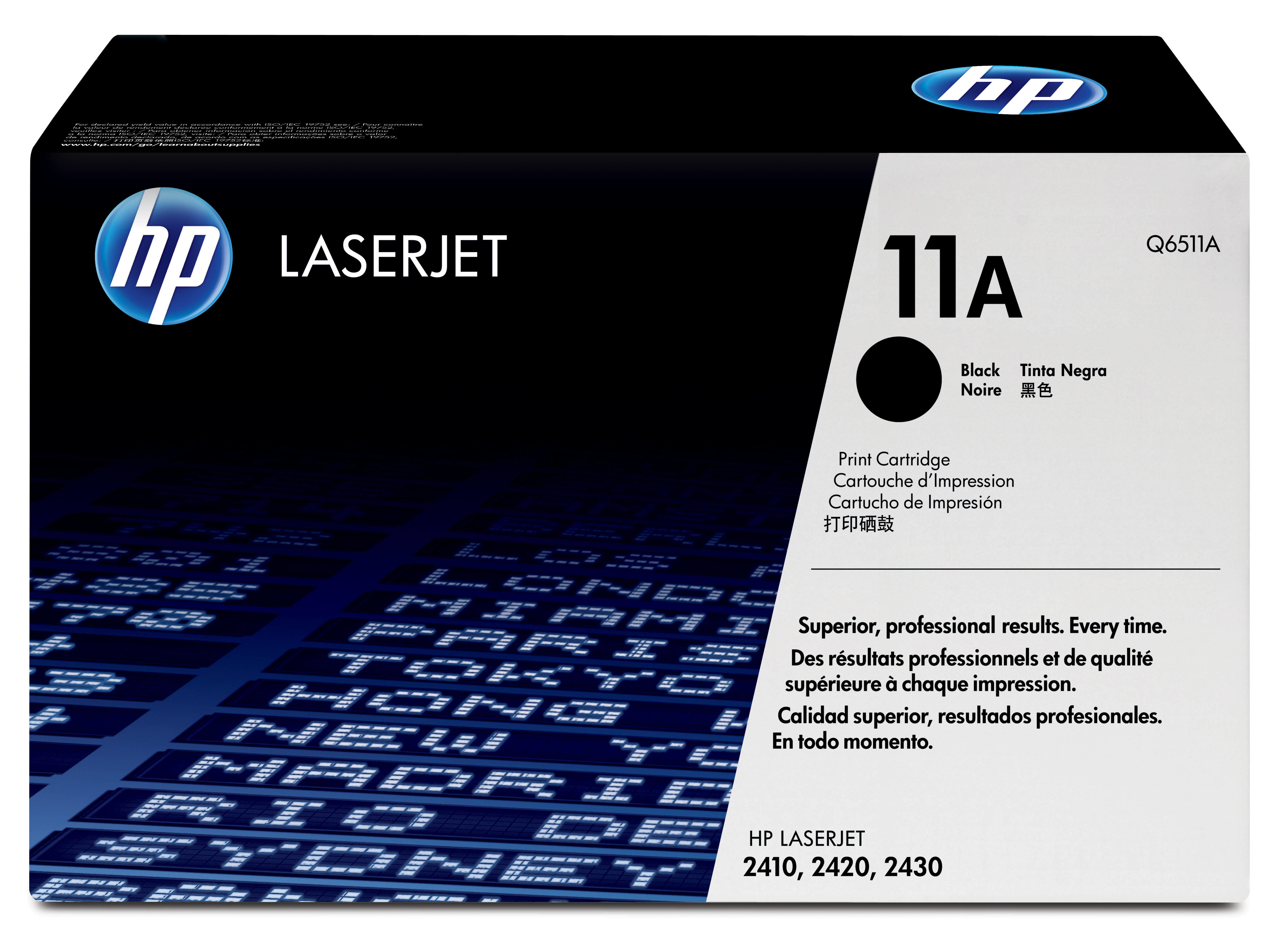 Remanufactured HP Q6511A Toner Cartridge Black 6K Q6511A - rem01