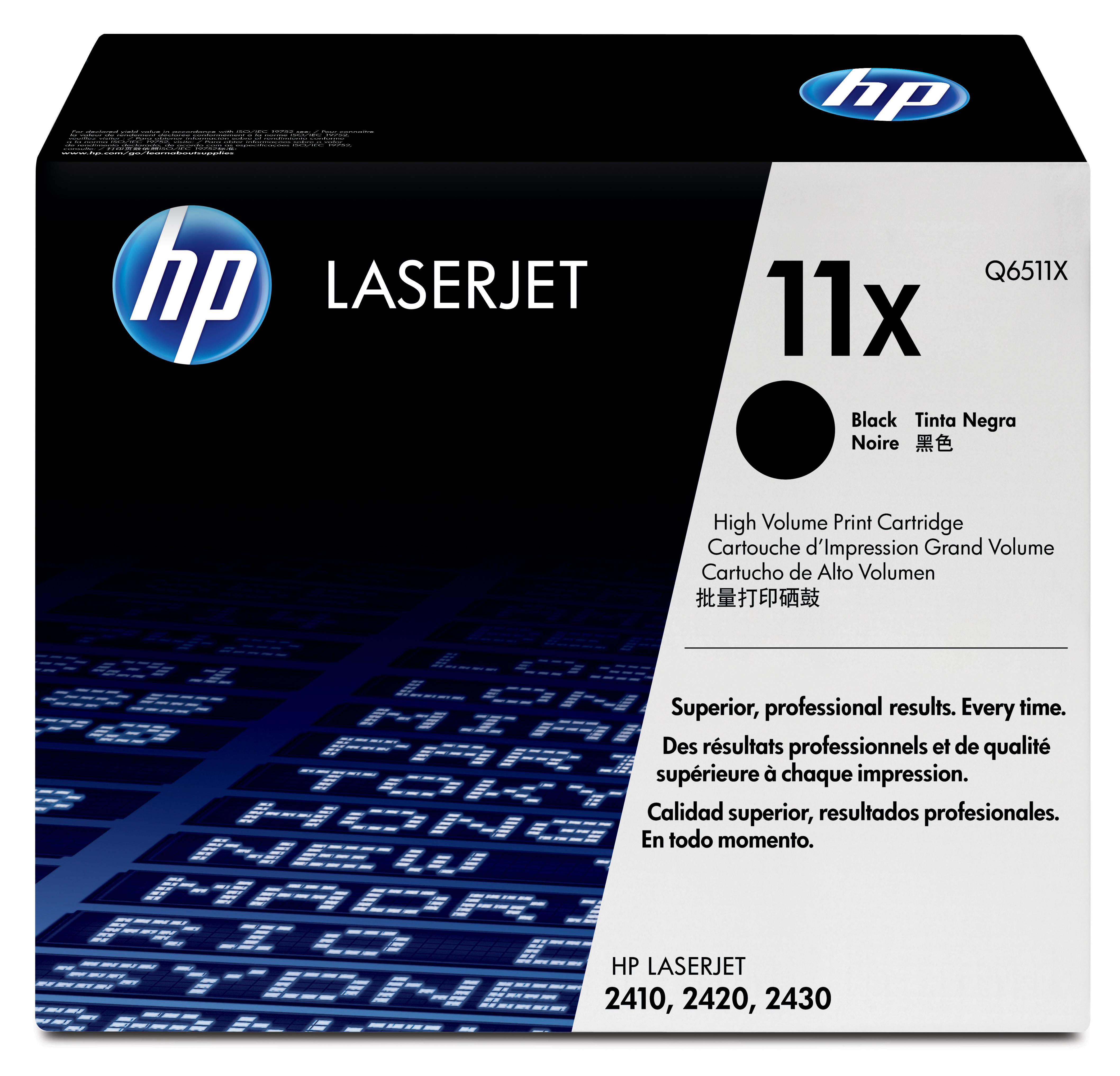 Remanufactured HP Q6511X Toner Cartridge Black 12K Q6511X - rem01