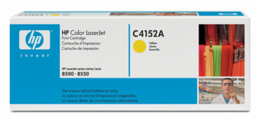 Remanufactured HP C4152A Toner Cartridge Yellow 8.5K C4152A - rem01