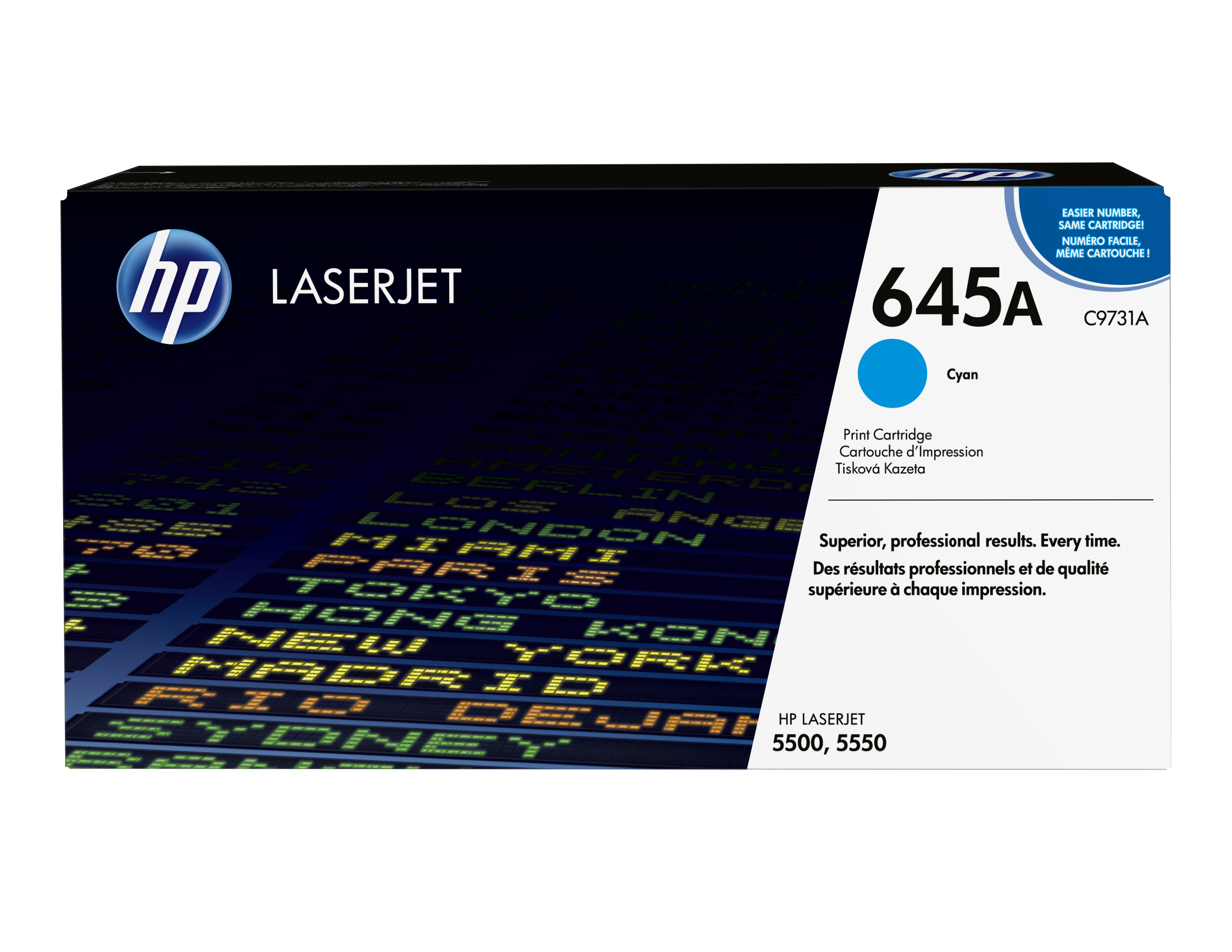 Remanufactured HP C9731A Toner Cartridge Cyan 12K C9731A - rem01