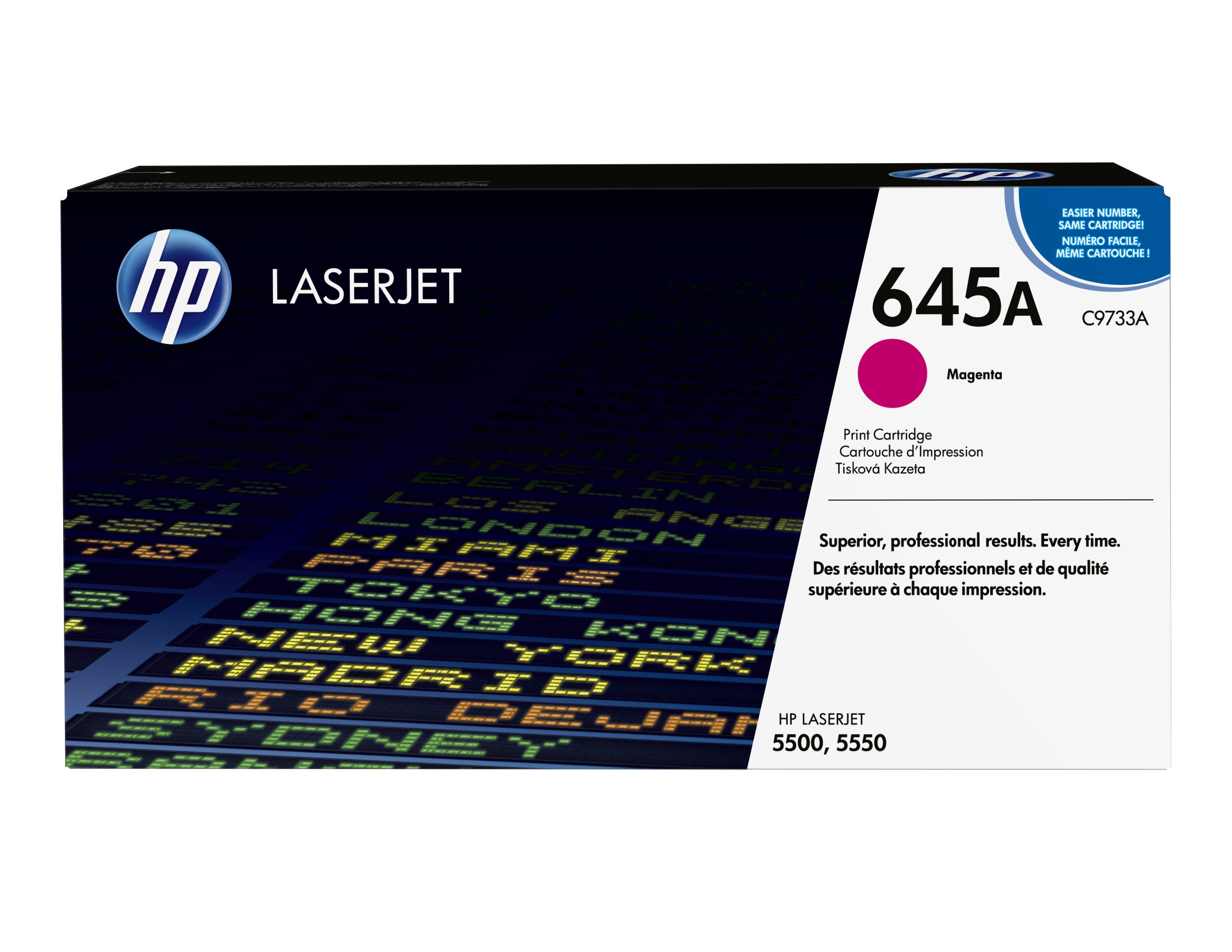 Remanufactured HP C9733A Toner Cartridge Magenta 12K C9733A - rem01
