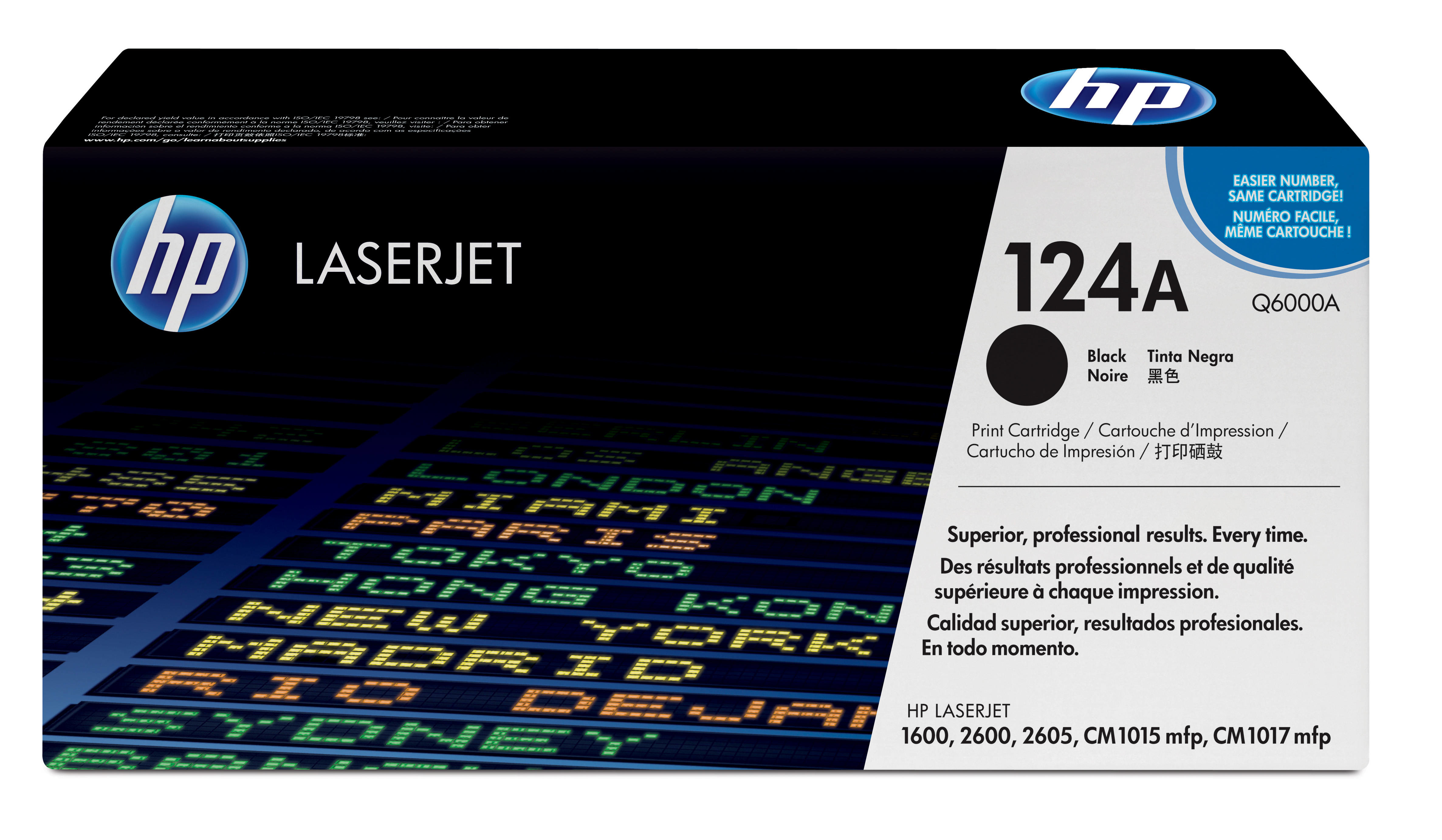 Remanufactured HP Q6000A Toner Cartridge Black 2.5K Q6000A - rem01
