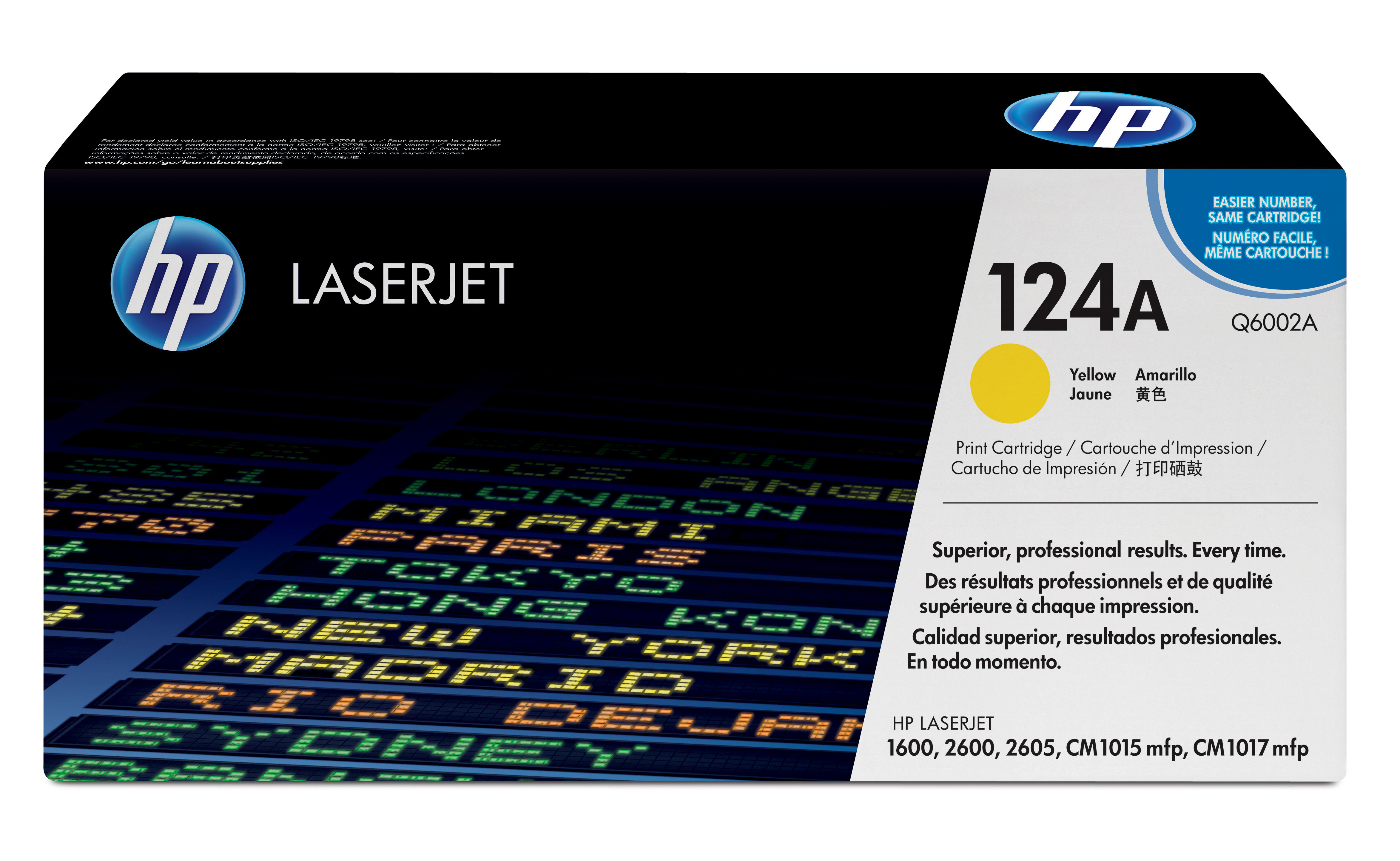 Remanufactured HP Q6002A Toner Cartridge Yellow 2K Q6002A - rem01