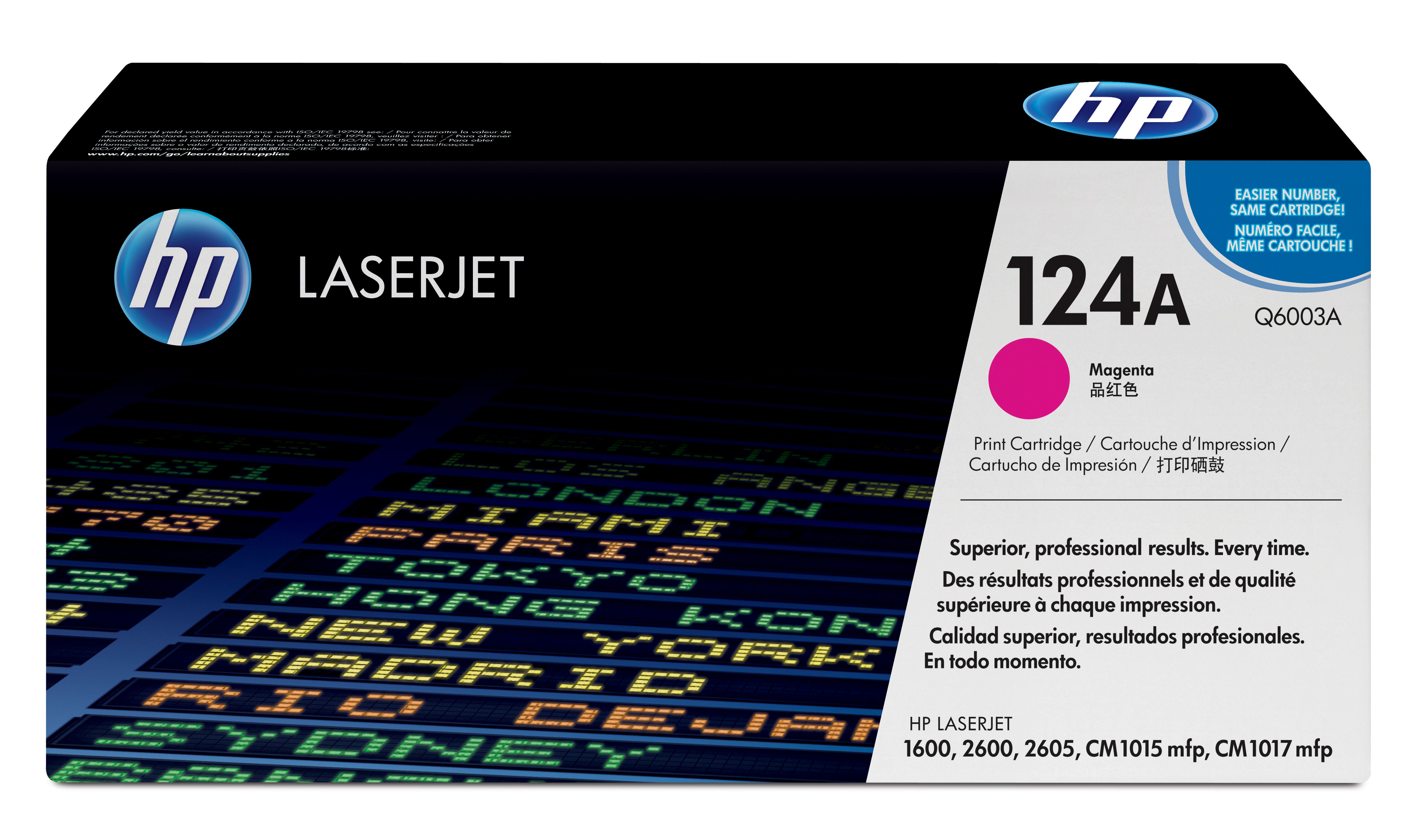 Remanufactured HP Q6003A Toner Cartridge Magenta 2K Q6003A - rem01