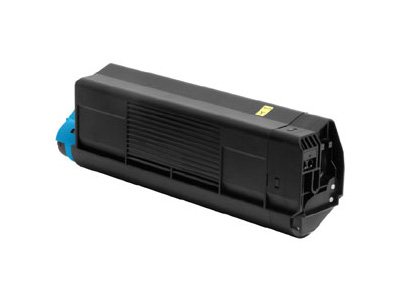 Remanufactured Oki 42804537 Toner Cartridge Yellow 3K 42804537 - rem01