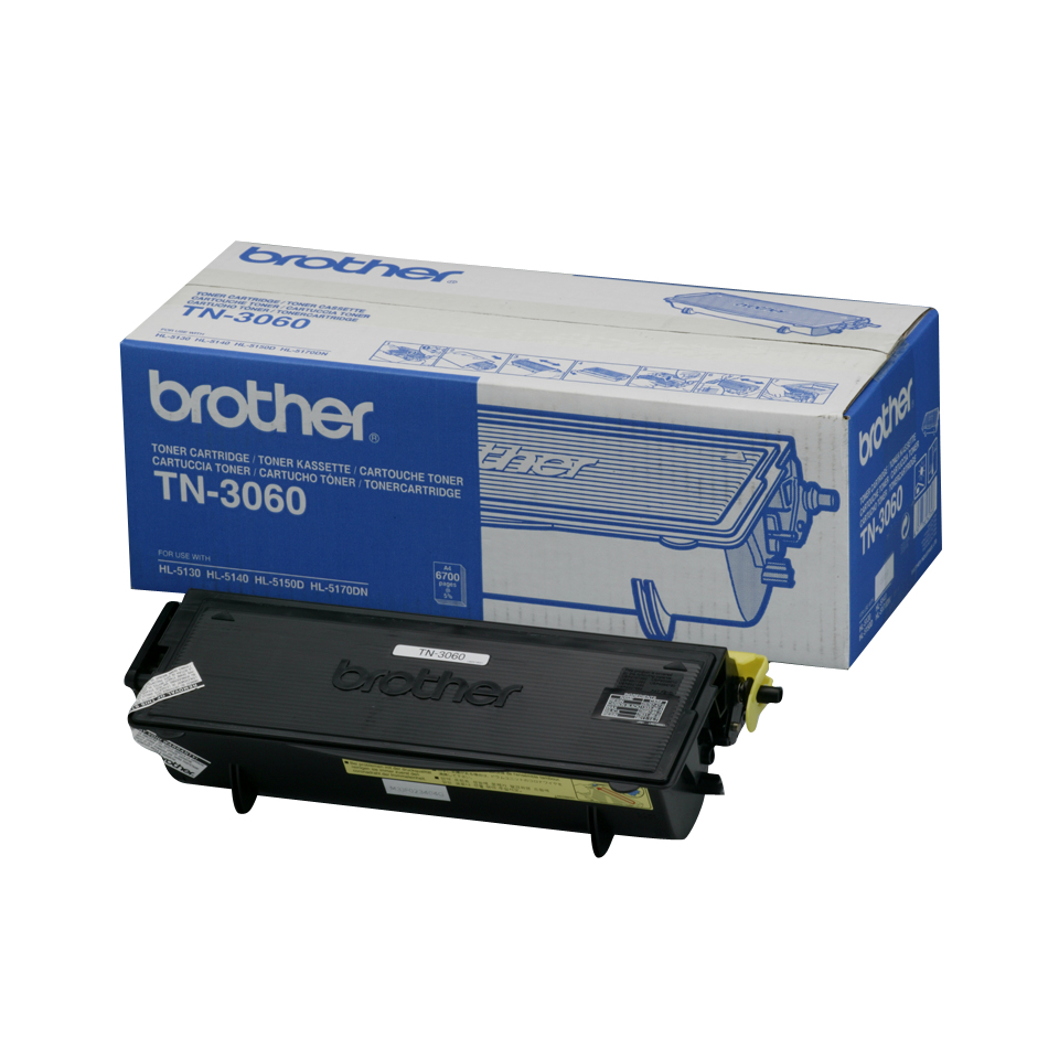 Remanufactured Brother TN3060 Toner Cartridge Black 6.7k TN3060 - rem01